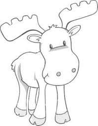 Moose Free Animal Coloring Pages For Kids By Jennythejet