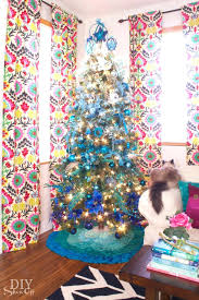 Ombre Christmas Tree As Well For Make Perfect Kmart 582