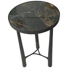Brass Pink Marble Coffee Table 1950s For Sale At Pamono