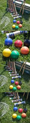 Croquet 117210: Croquet Set For Kids Adults Wooden Outdoor 6 ... Backyard Games Book A Cort Sinnes Alan May Deluxe Croquet Set Baden The Rules Of By Sunni Overend Croquet Backyard Sei80com 2017 Crokay 31 Pinterest Pool Noodle Soccer Ball Kids Down Home Inspiration Monster Youtube Garden Summer Parties Let Good Times Roll G209 Series Toysrus 10 Diy For The Whole Family Game Night How To Play Wood Mallets 18 Best And Rose Party Images On