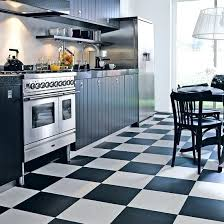 floor tiles to match black and white kitchen checkered designs