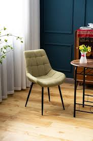 flieks esszimmerstuhl polsterstuhl wohnzimmerstuhl sessel mit rückenlehne sitzfläche aus leinen metallbeine kaufen otto