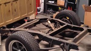 1970 C20 Airbag Suspension Trailing Arm Conversion C10 Part 1 - YouTube