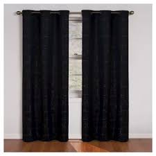 Eclipse Thermaback Curtains Target by Black Blackout Curtains Target