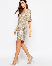tfnc gold sequin dress with long sleeves u2013 dress fric ideas