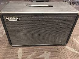 Mesa Boogie Cabinet Speakers by Mesa Boogie Cab With Black Shadow Electro Voiced Speakers Reverb