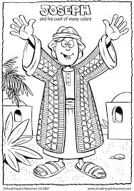 Free Printable Coloring Joseph Coat Of Many Colors Page 89 For Your Books With