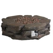 Garden Treasures Patio Heater Troubleshooting by Shop Garden Treasures 42 In W 50 000 Btu Brown Composite Propane