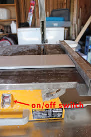 Ryobi Wet Tile Saw With Stand by How To Use A Wet Tile Saw A Beginner U0027s Basic Guide