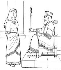 Queen Esther Coloring Pages Pictures Of