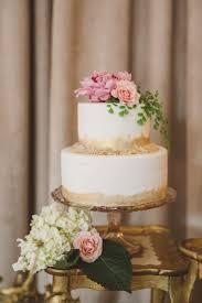 Romantic Glamorous Spring Wedding Inspiration CakesWedding BlushWedding Cake GoldWedding DesertRustic