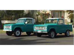1966 Ford Bronco For Sale | ClassicCars.com | CC-1037172 1969 Ford Bronco Half Cab Jared Letos Daily Driver Is A With Flames On It Spied 2019 Ranger And 20 Mule Questions Do You Still Check Trans Fluid With Truck In Year Make Model 196677 Hemmings 1966 Service Pickup T48 Anaheim 2016 Indy U101 Truck Gallery Us Mags 1978 Xlt Custom History Of The Bronco 1985 164 Scale Custom Lifted Ford