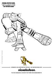 Coloriage Tortue Ninja À Imprimer Sur Coloriages Destiné Coloriage
