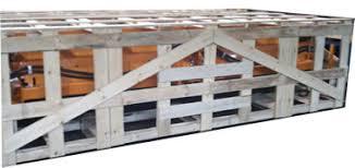NWC CROF IC Open Frame Wood Crate