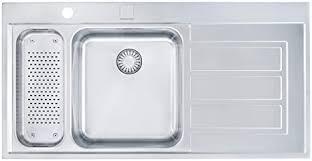 franke küchen spüle epos eox 261 127 0151 092 edelstahl