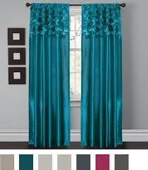 Lush Decor Curtains Canada by Lush Decor Circle Dream Window Curtain Panels Turquoise Set Of 2