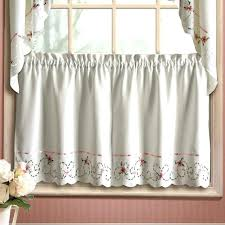 Kitchen Tier Curtains Modern Designs Tiers And Swags