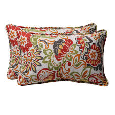 Amazon Prime Patio Chair Cushions by Amazon Com Pillow Perfect Decorative Multicolored Modern Floral