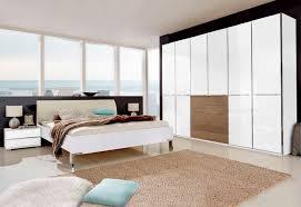 schlafzimmer set 4er set weiß material glas metall farbglas kunstleder shanghai wiemann mit schubkästen