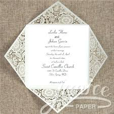 Lovely Laser Cut Wedding Invitations Wholesale Or Classic Rustic