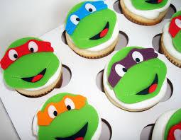 Ninja Turtle Decorations Nz by Teenage Mutant Ninja Turtle Cupcakes Cake Ideas Pinterest