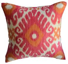 Ikat Decorative Pillow Decorative Pillows by KH Window