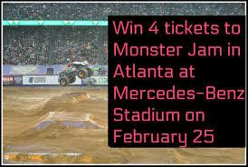 Win 4 Tickets To Monster Jam In Atlanta | Daddy Mojo