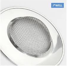 new handle mesh stainless steel kitchen bathroom sink strainer