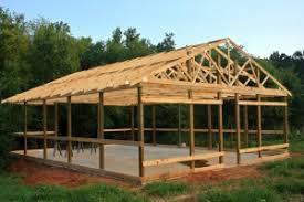 Build A Pole Barn Pole Buildings Post Frame Buildings Plans