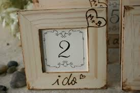 Rustic Wedding Decor Set Of 8 Table Number Frames For Your Chic Woodland Cottage Fall Decorations With Initials