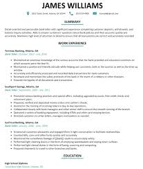 Bank Teller Resume Sample Examples No Experience For Tell Full Size