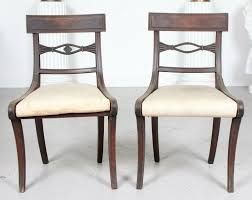 Pair Antique Regency Painted Dining Chairs 2 Side Chairs 19th Century How To Transform A Vintage Ding Table With Paint Bluesky Pating My Antique Six Edwardian French Painted Chairs 364060 19th Century Country Set Of 6 Balloon Back Good 1940s Faux Bamboo Eight 1920s Pair Regency 2 Side White Chippy Chair Early 20th Louis Xvi Chairsset 8 Abc Carpet Home Style Fniture And European Buy Cheap Punched Wood Handpainted
