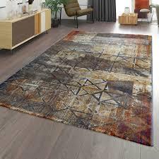 moderner teppich geometrisch design abstraktes muster used
