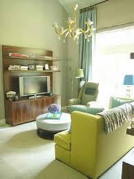green living room home design