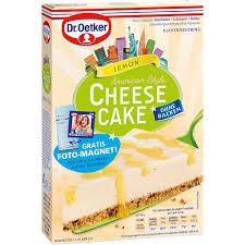 dr oetker cheesecake american style lemon