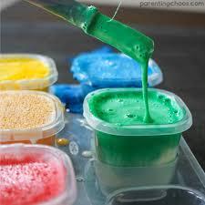 Bathtub Fingerpaint Soap Recipe by Homemade Bath Paints