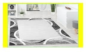 paco home wohnzimmer teppich designer bordüre meliert grau