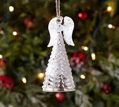 Mercury Glass Angel Ornament