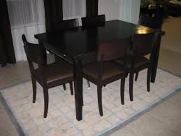 dining ideas ergonomic crate barrel paloma dining table crate