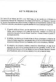 Carta De Renuncia De Felipe Bulnes Como Agente De Chile