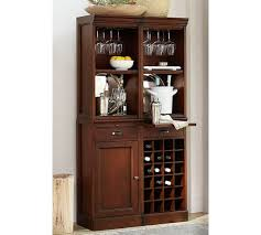 Modular Bar System With 2 Standard Hutches 1 Cabinet Base And Wine Grid