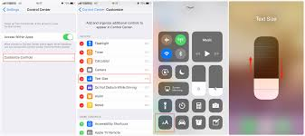 How to Increase Decrease Text Size in iOS 11 on iPhone iPad