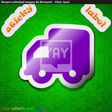 Delivery Truck Icon Sign. Symbol Chic Colored Sticky Label On Green ... Delivery Truck Icon Cargo Van Symbol Royalty Free Vector Truck Icon Flat Icons Creative Market Inhome Setup Foundation Only Order The Sleep Shoppe Logistics Car House Business Png Download Png 421784 Download Image Photo Trial Bigstock Sign Delivery Free Isolated Sticker Badge Logo Design Elements 316923 Express 501