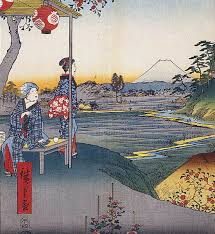 Traditional Japanese Paintings Art