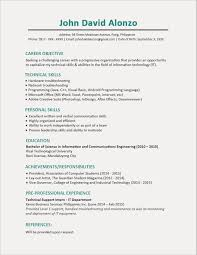 First Job Resume Fresh Updated Writing A For Achievements On Examples