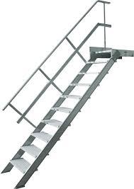 un palier d escalier palier d escalier aluminium