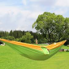 High Quality e Person Hammock Assorted Color Garden Swing Chair