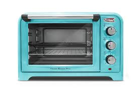 Amazon Americana ERO 2600BL Collection Retro 6 Slice Toaster Oven Blue Kitchen Dining