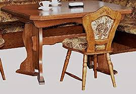 unbekannt küchentisch eiche rustikal ausziehbarer tisch