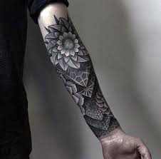 Indeed Geometric Trend Has Invaded Forearm Tattoos By Cstdvts